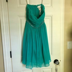 MM Couture by Miss Me short semi formal dress